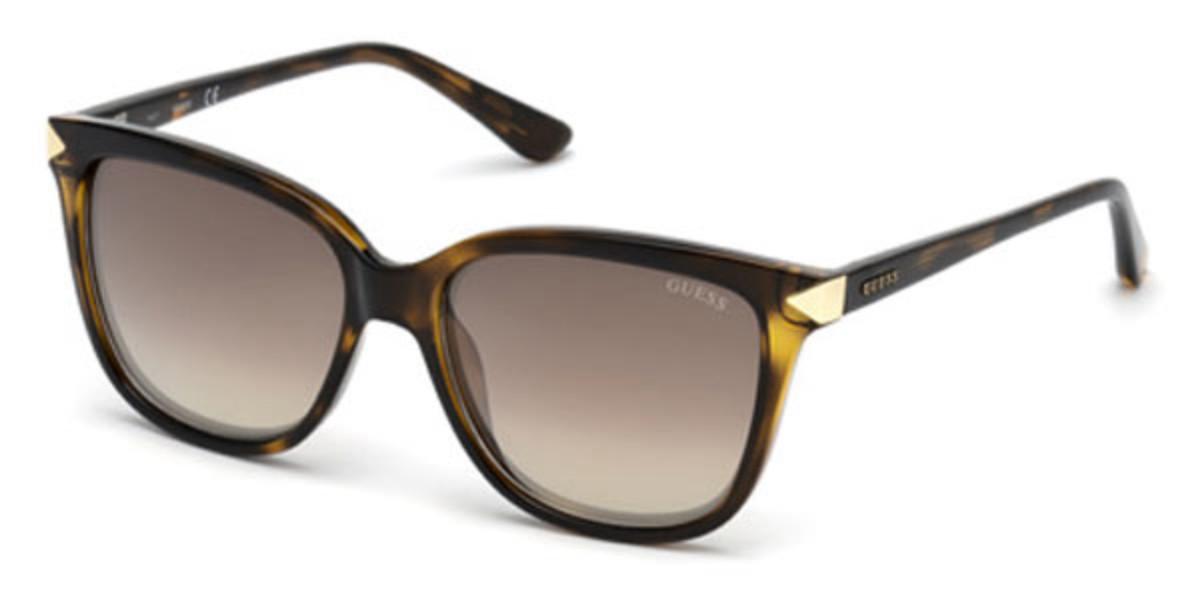 Guess GU 7551 52G Women's Sunglasses Tortoise Size 56