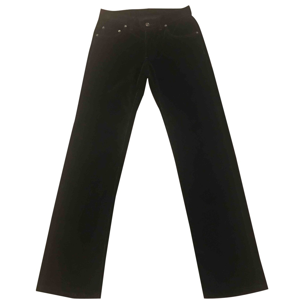 Gucci \N Black Cotton Trousers for Men S International