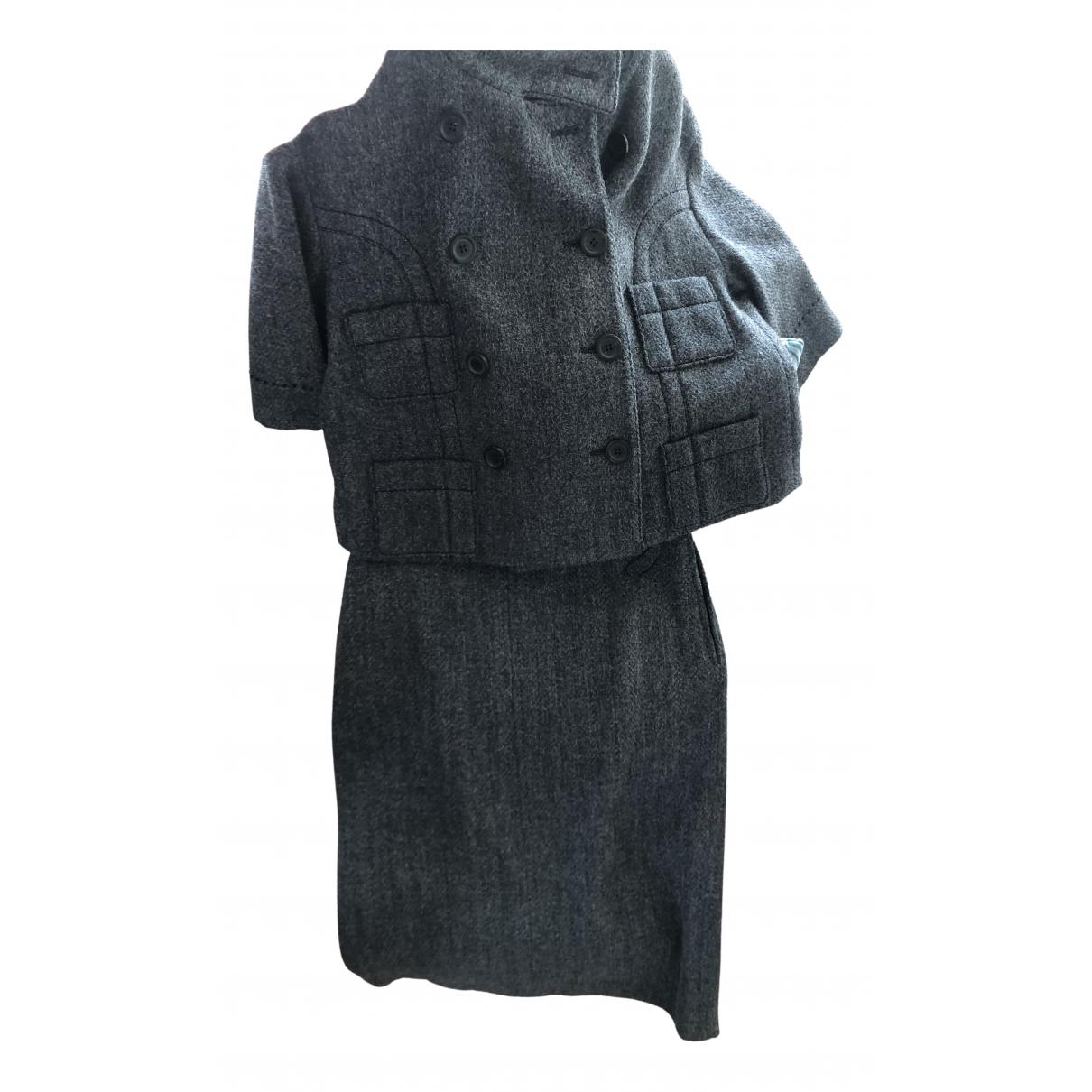 Louis Vuitton - Veste   pour femme en laine - gris