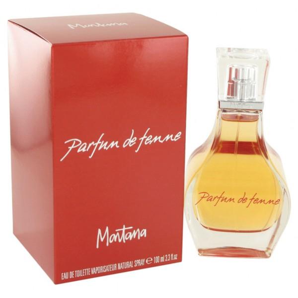 Montana - Parfum De Femme : Eau de Toilette Spray 3.4 Oz / 100 ml