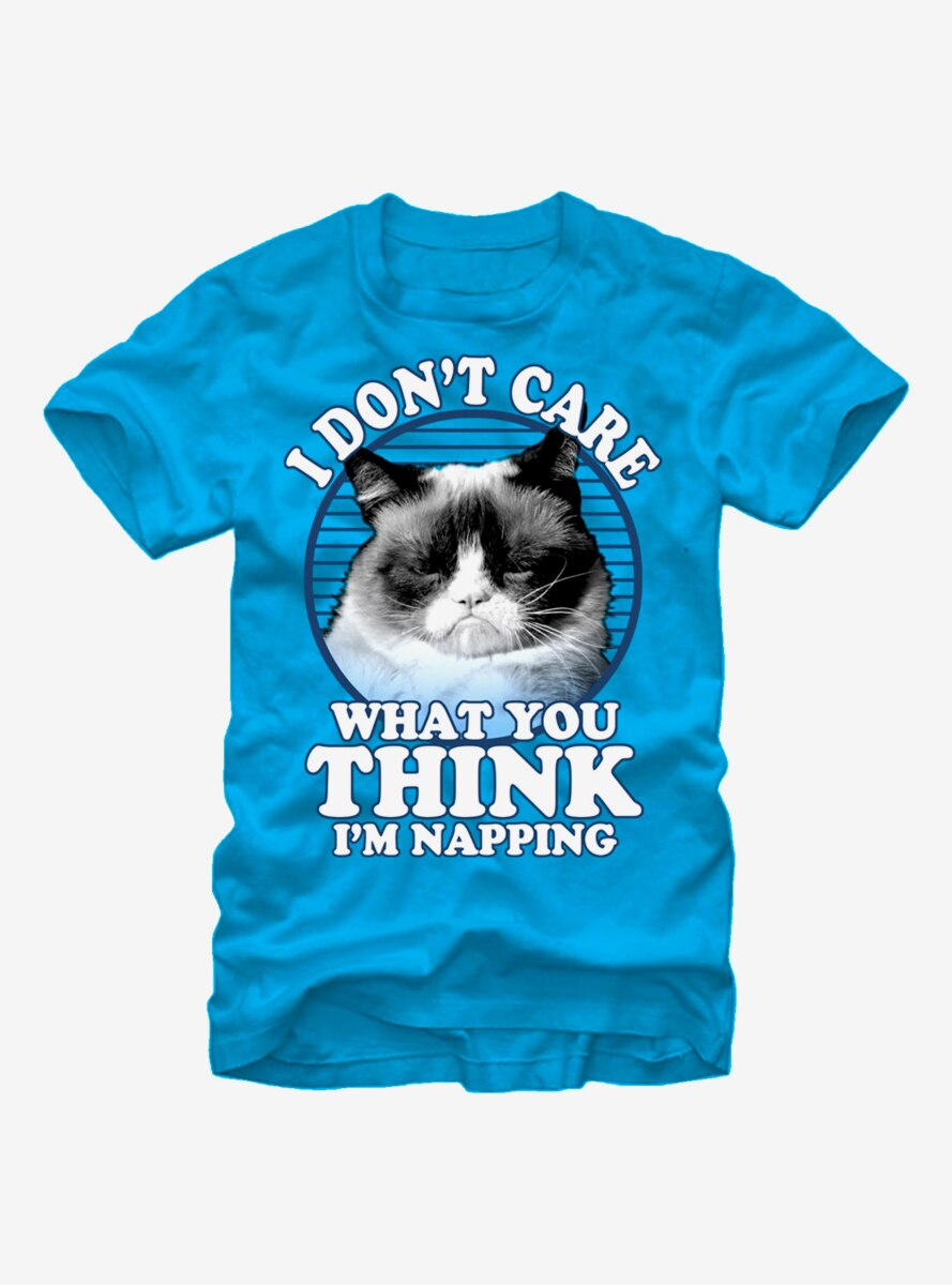 Grumpy Cat Nap T-Shirt