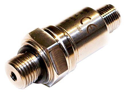 Gems Sensors Pressure Sensor for Air, Gas, Water , 6bar Max Pressure Reading Current