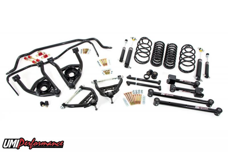 """UMI Performance ABF403-2-B 1965-1966 GM A-Body Handling Package, 2"""" Lowering- Stage 2"""