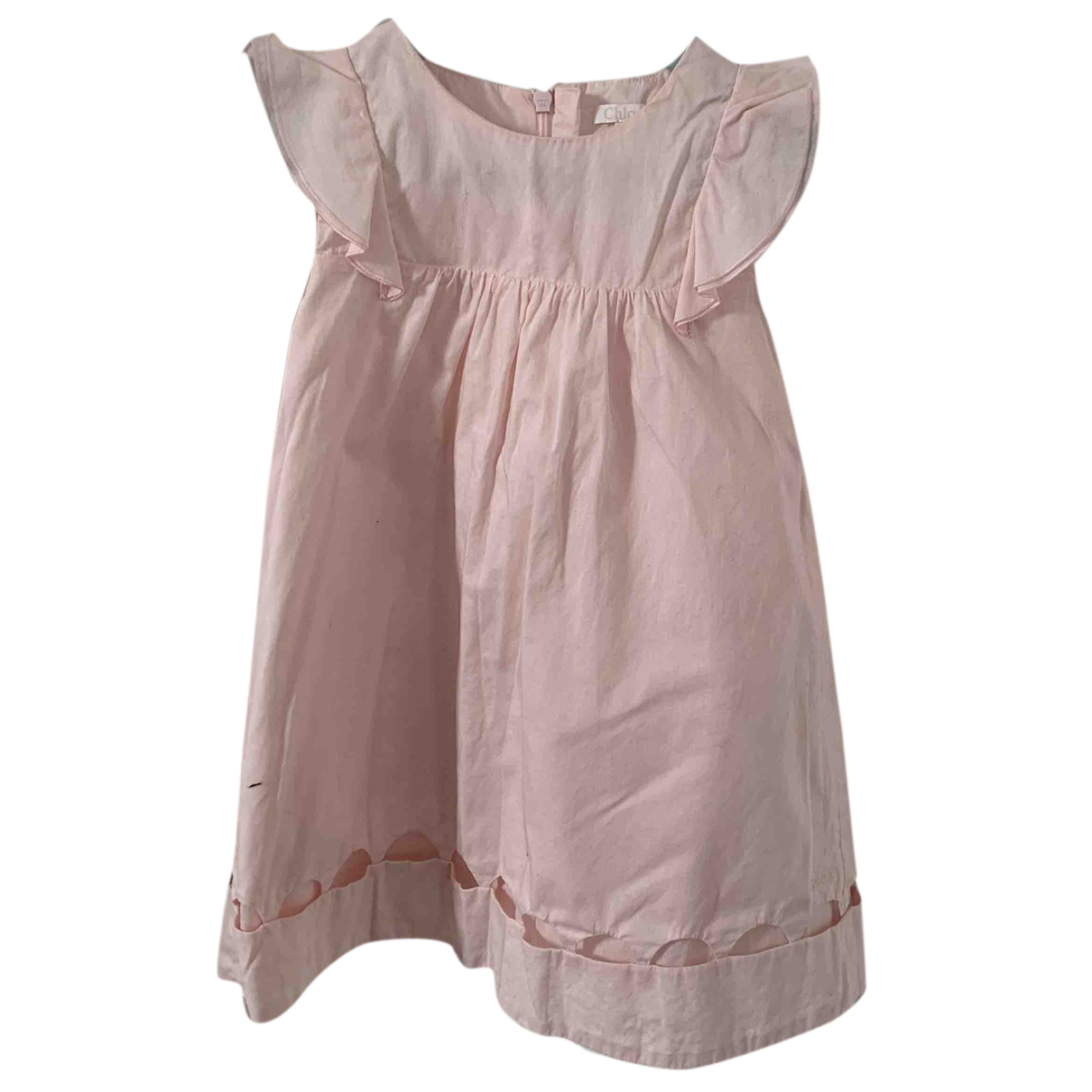 Chloé N Pink Cotton dress for Kids 2 years - up to 86cm FR
