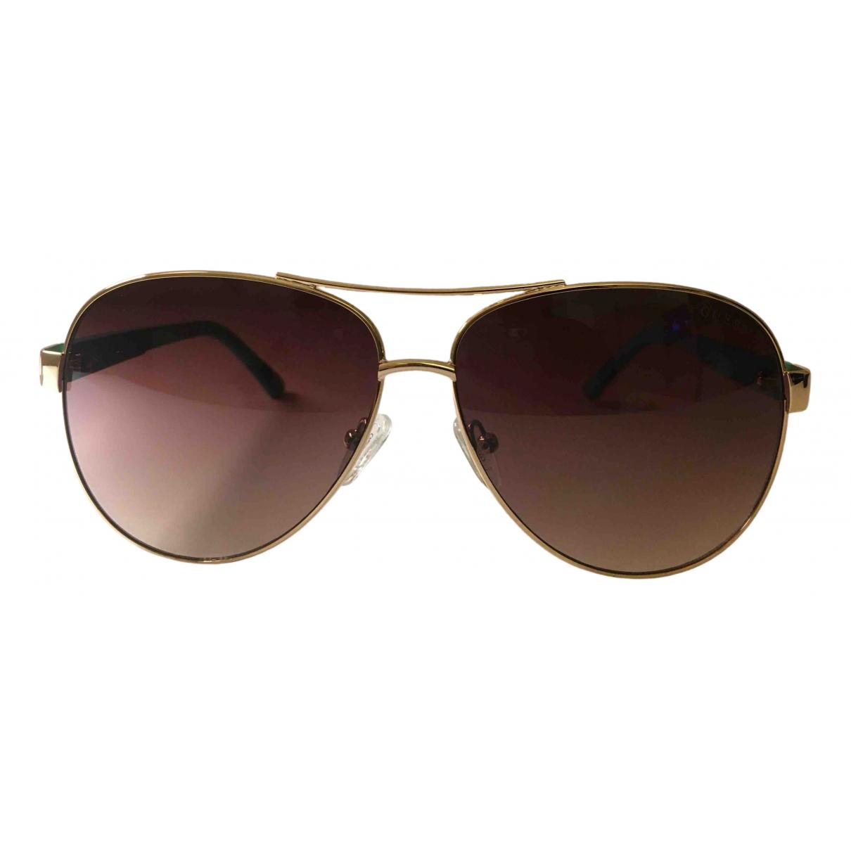 Guess N Gold Metal Sunglasses for Women N