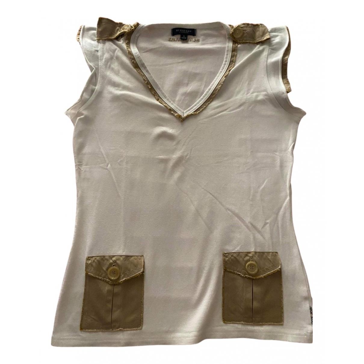 Burberry \N Khaki Cotton  top for Women S International