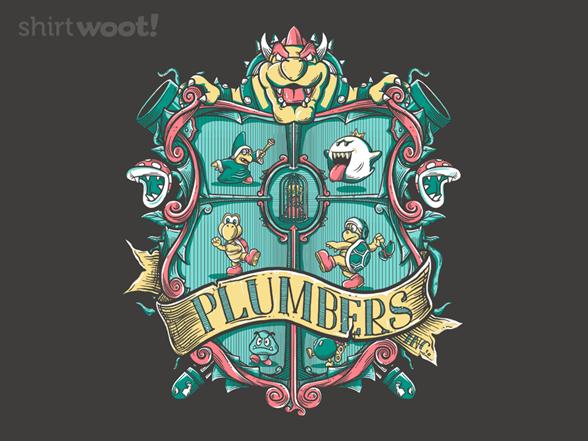 Plumbers Inc. T Shirt