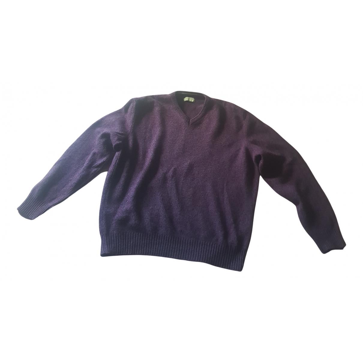 Avirex \N Pullover.Westen.Sweatshirts  in  Lila Wolle