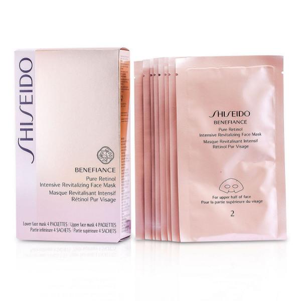 Benefiance - Masque Revitalisant Intensif Retinol Pur Visage - Shiseido Mascarilla 4 Paires