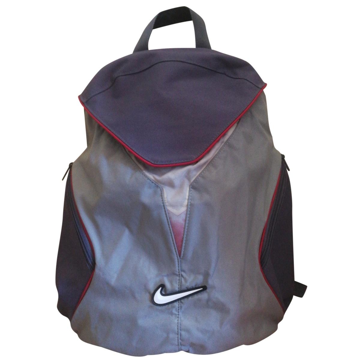 Nike \N Rucksaecke in  Grau Polyester