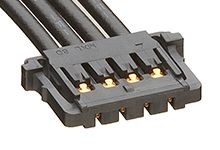 Molex 15132 Series Number Wire to Board Cable Assembly 1 Row, 4 Way 1 Row 4 Way, 50mm (500)