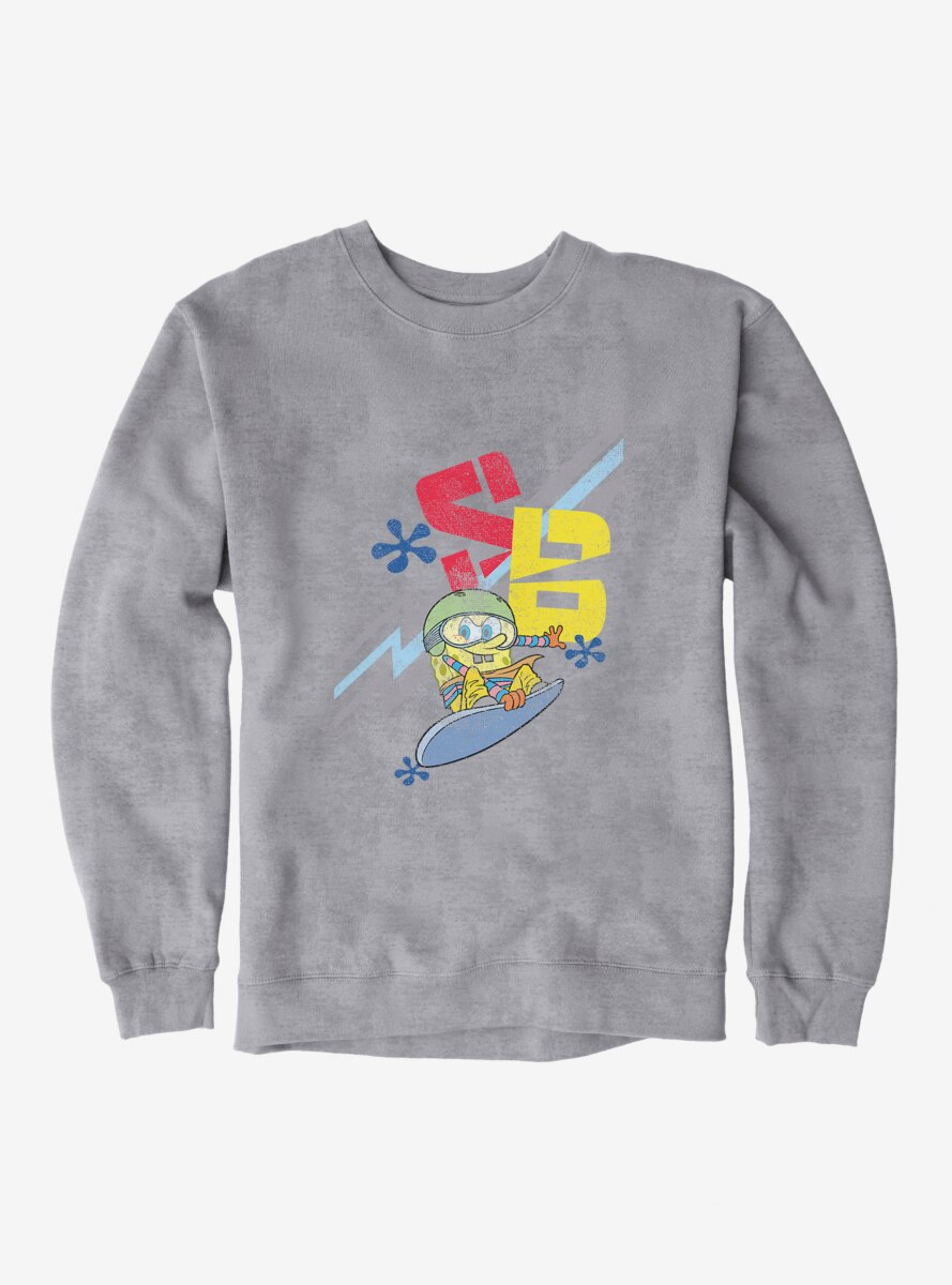 SpongeBob SquarePants Snowboarding Sweatshirt