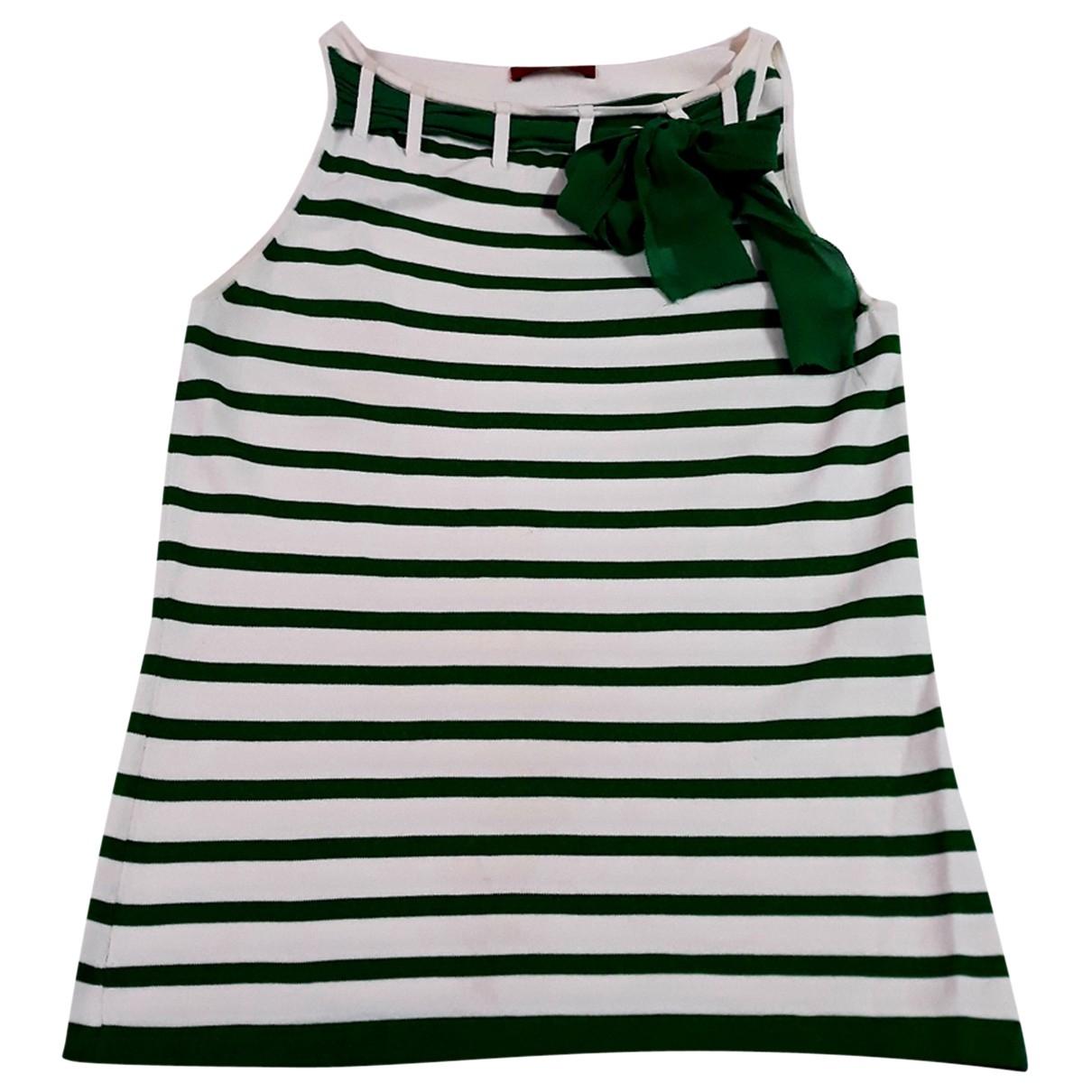 Carolina Herrera \N Top in  Gruen Polyester