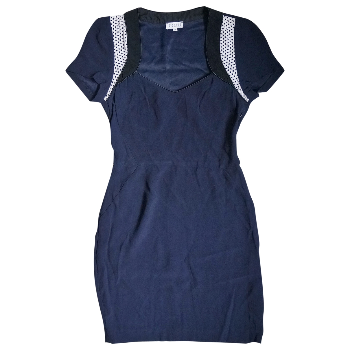 Claudie Pierlot \N Navy dress for Women 36 FR
