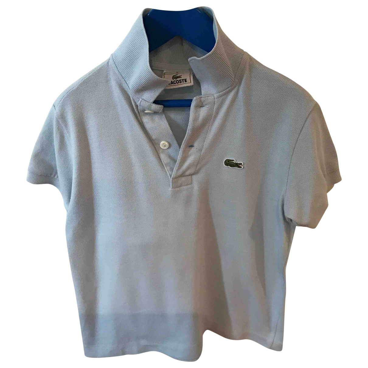 Lacoste \N Turquoise Cotton  top for Kids 6 years - up to 114cm FR