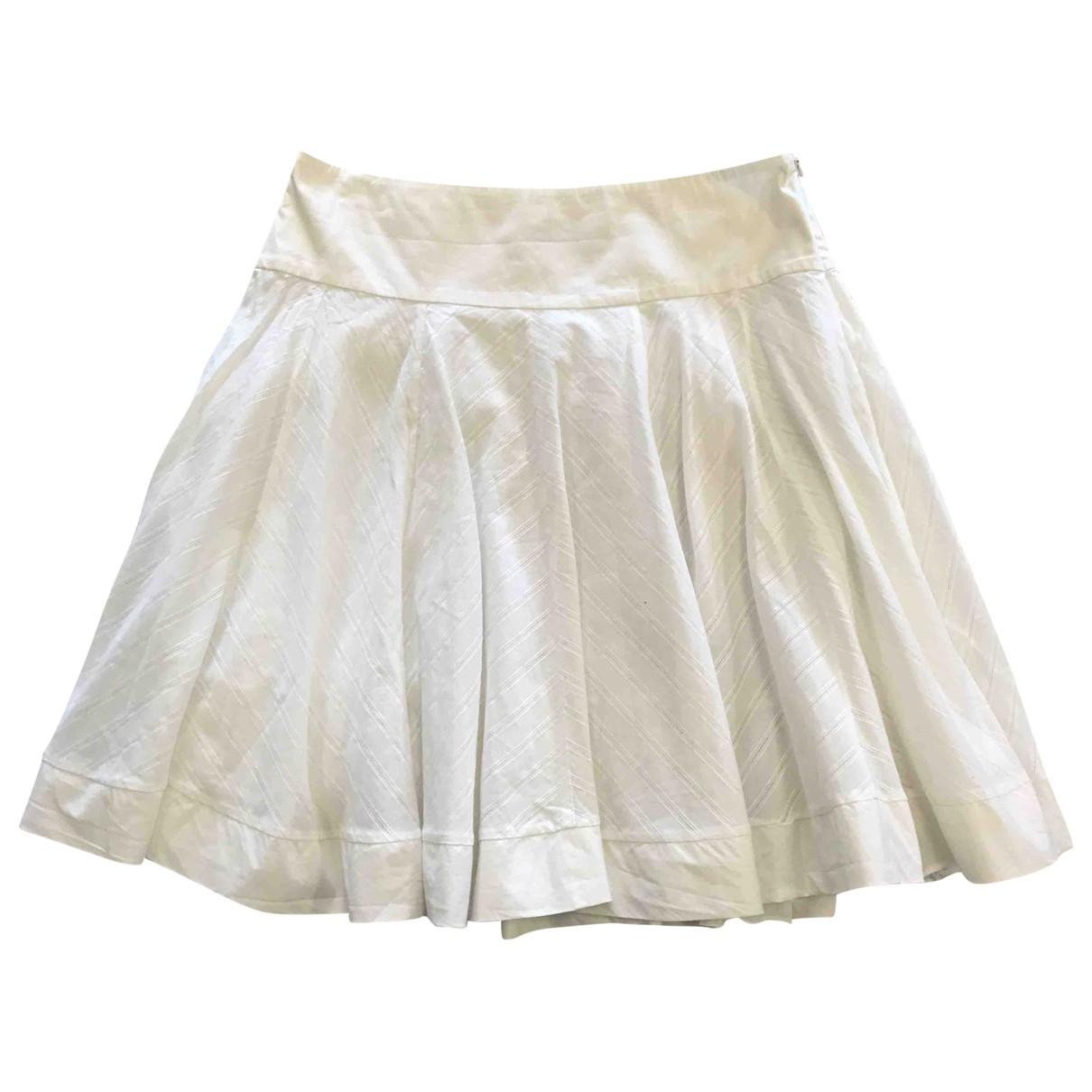 Blumarine - Jupe   pour femme en coton - blanc