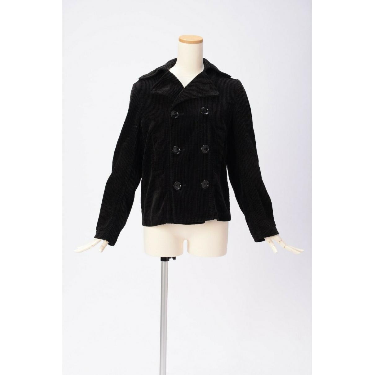 Comme Des Garcons - Manteau   pour femme - noir