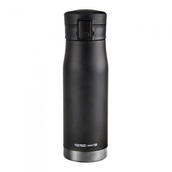 "Thermobecher Asobu ""Liberty Canteen Black/Silver"", 500 ml"