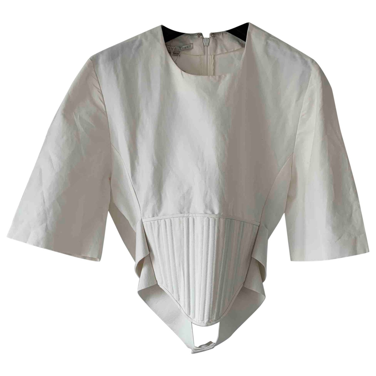 Stella Mccartney \N White Cotton  top for Women 40 IT