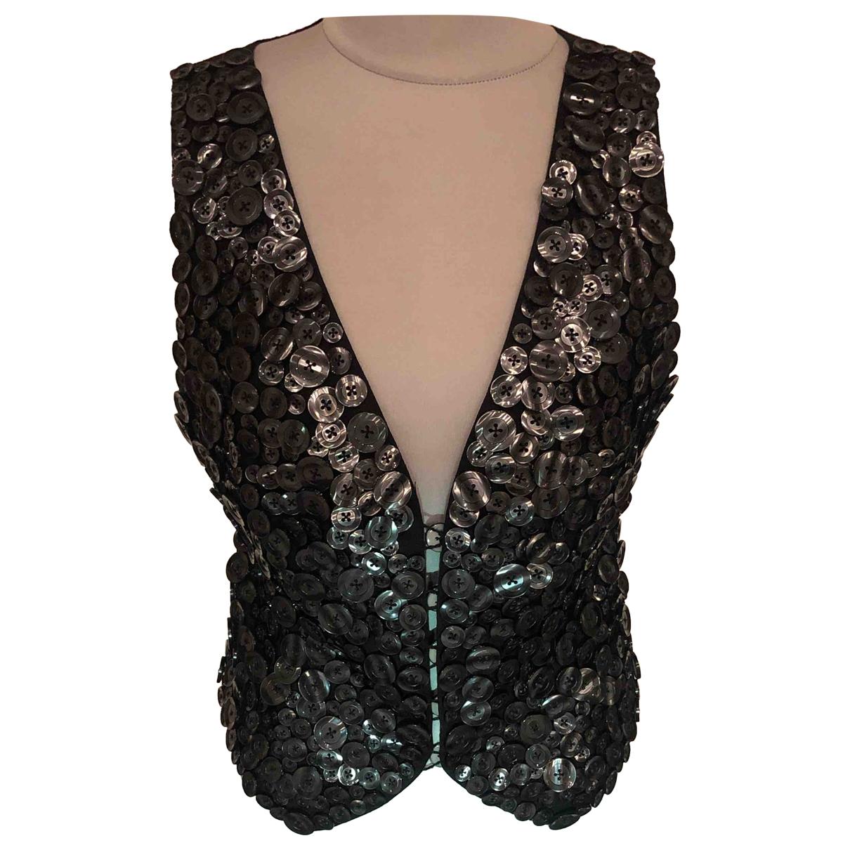 Moschino \N Pullover in  Schwarz Wolle
