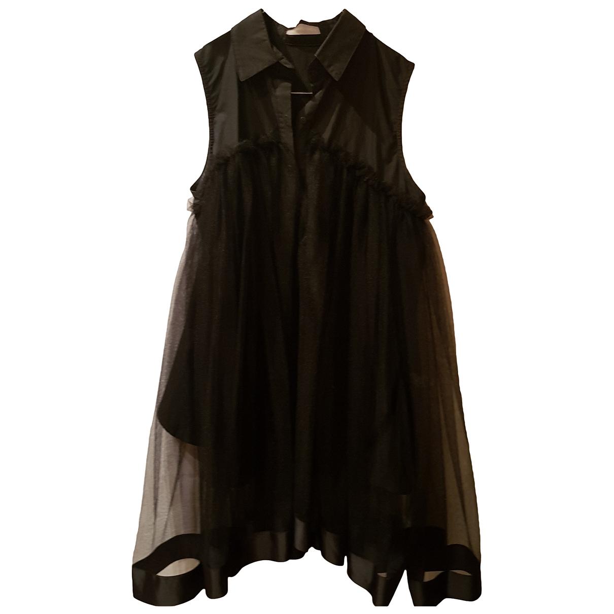 Romeo Gigli \N Kleid in  Schwarz Baumwolle