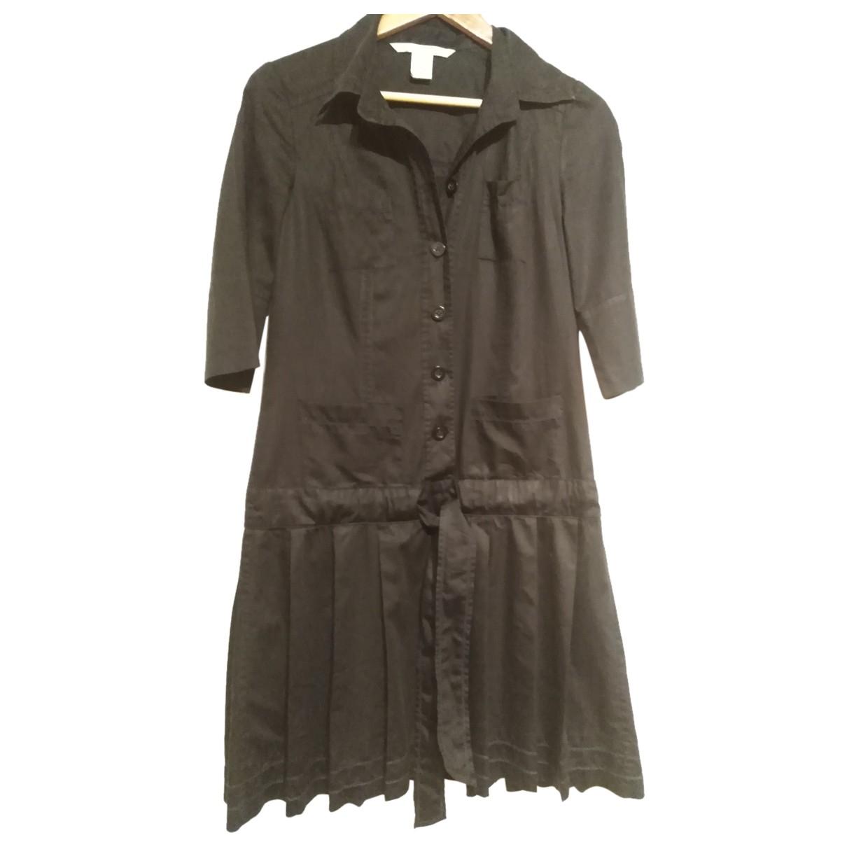 Diane Von Furstenberg - Robe   pour femme en coton - marine