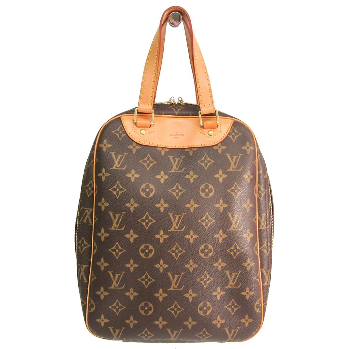 Louis Vuitton - Sac de voyage   pour femme en toile - marron