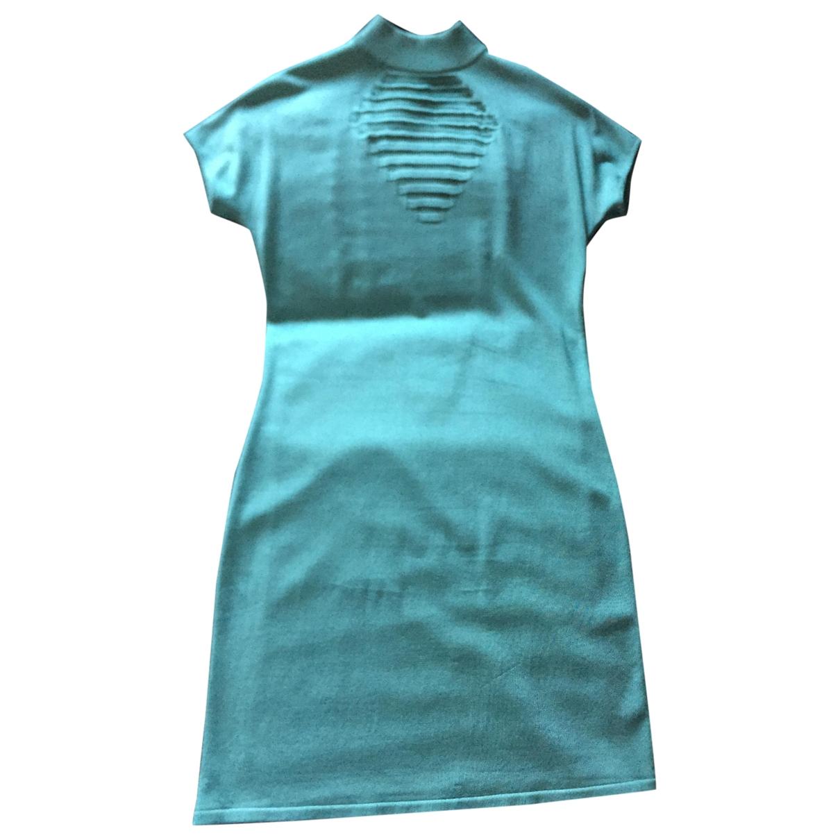 Versace \N Kleid in  Gruen Viskose