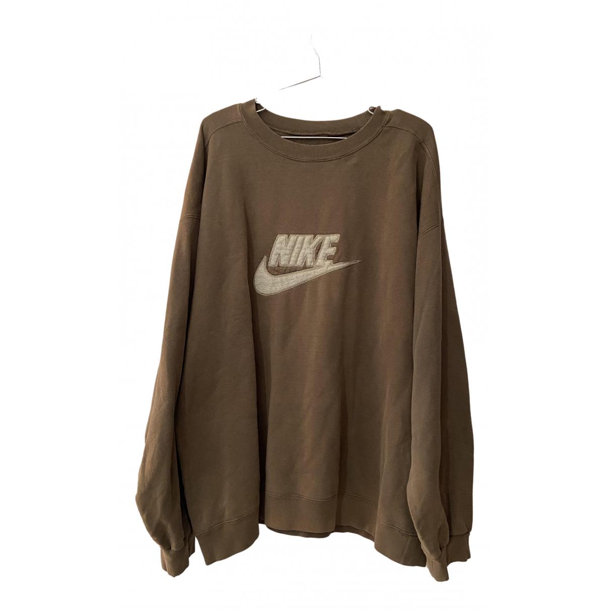 Nike N Brown Cotton Knitwear & Sweatshirts for Men XXL International