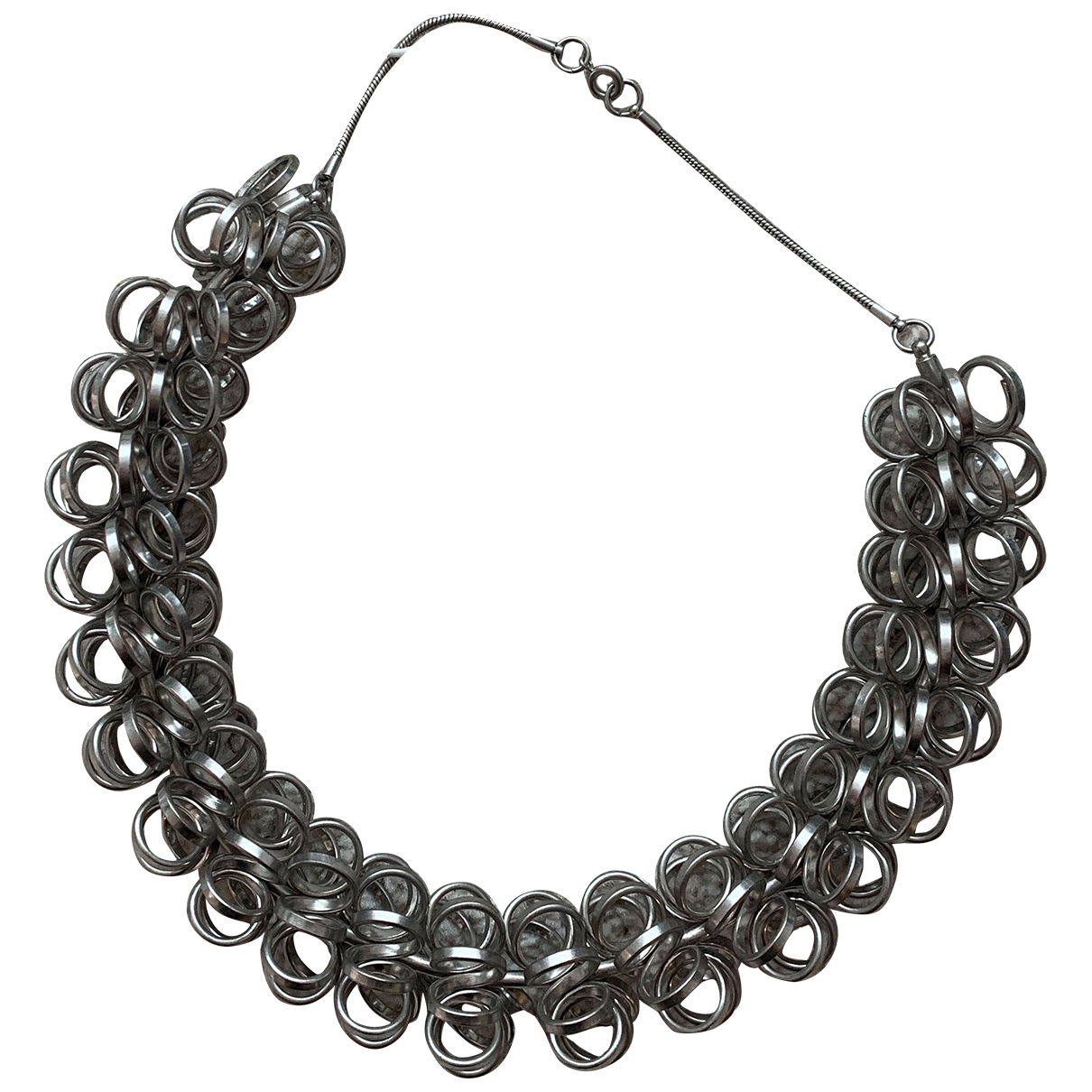 Cos \N Silver Metal necklace for Women \N