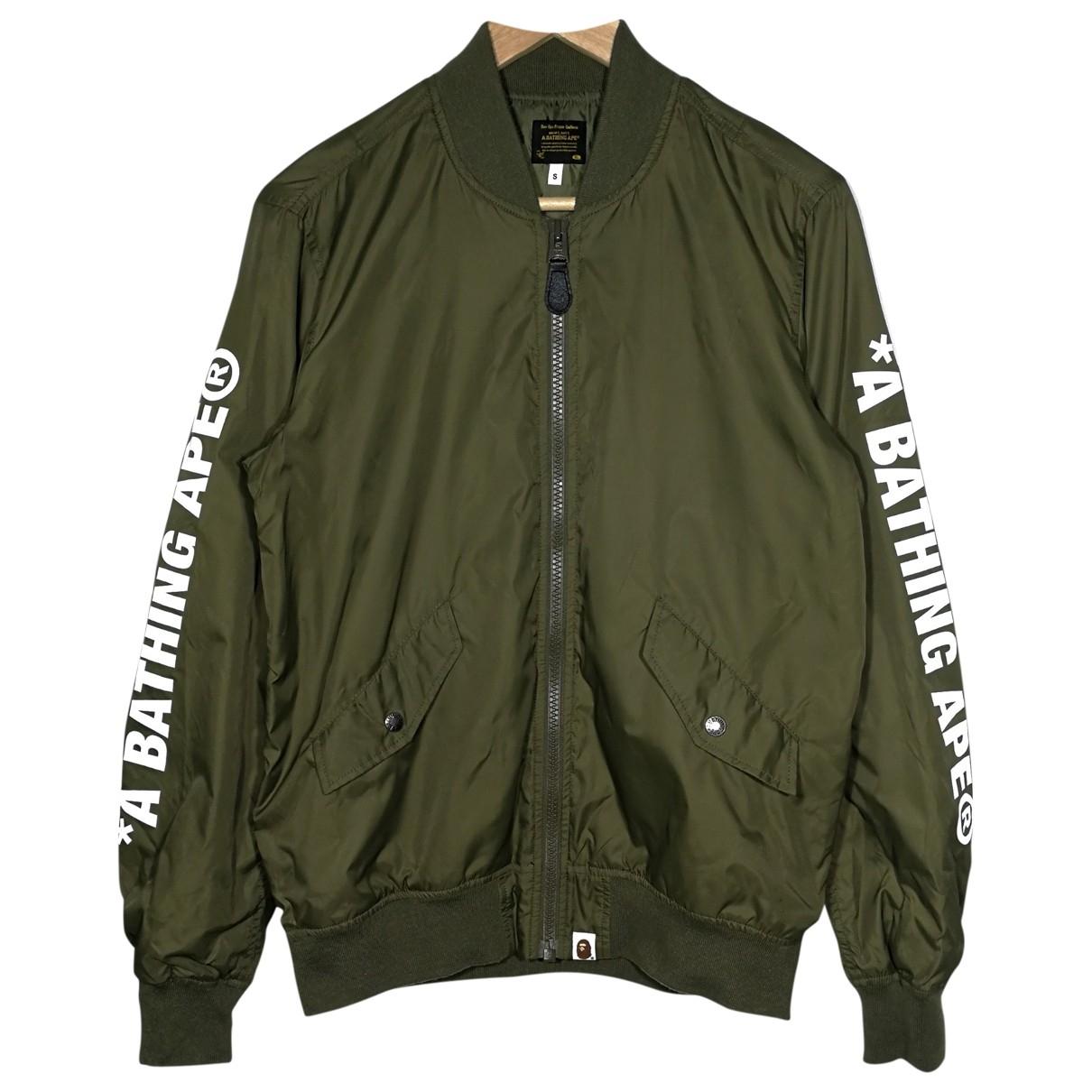 A Bathing Ape \N Green jacket  for Men S International