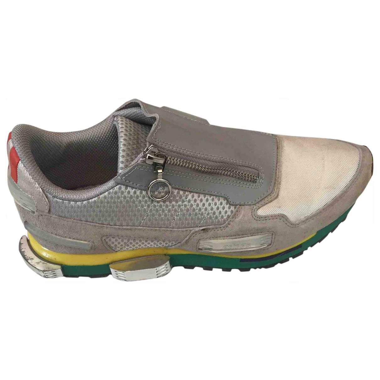 Adidas X Raf Simons \N Sneakers in  Grau Leinen