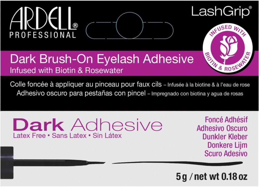 LashGrip Dark Brush-On Natural Eyelash Adhesive