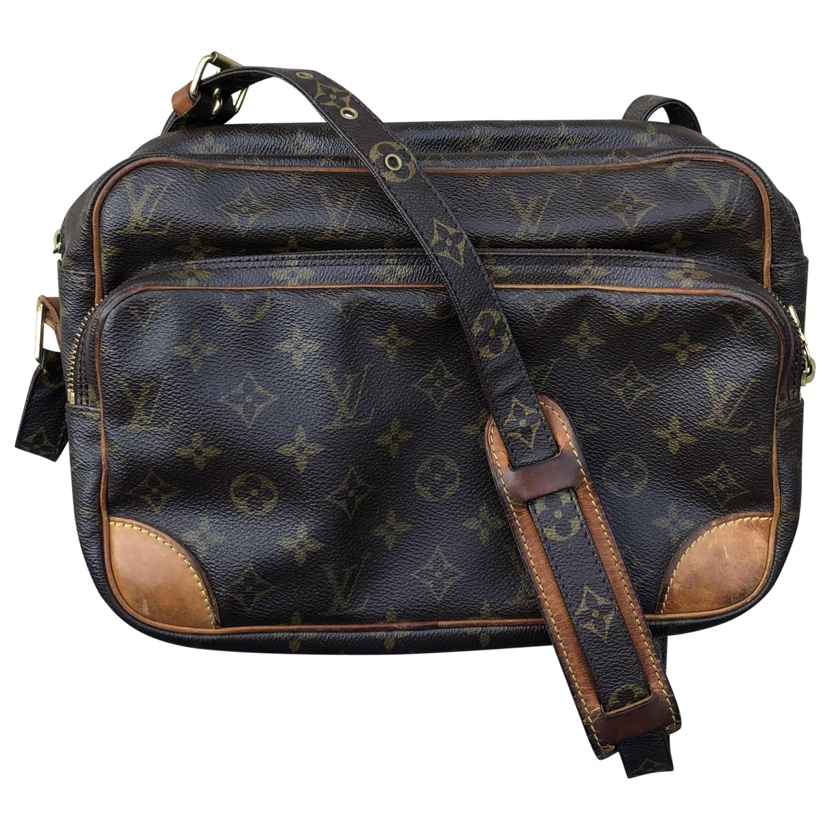 Louis Vuitton Nile Brown Cloth handbag for Women \N