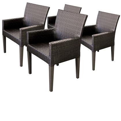 TKC097b-DC-2x 4 Napa Dining Chairs With