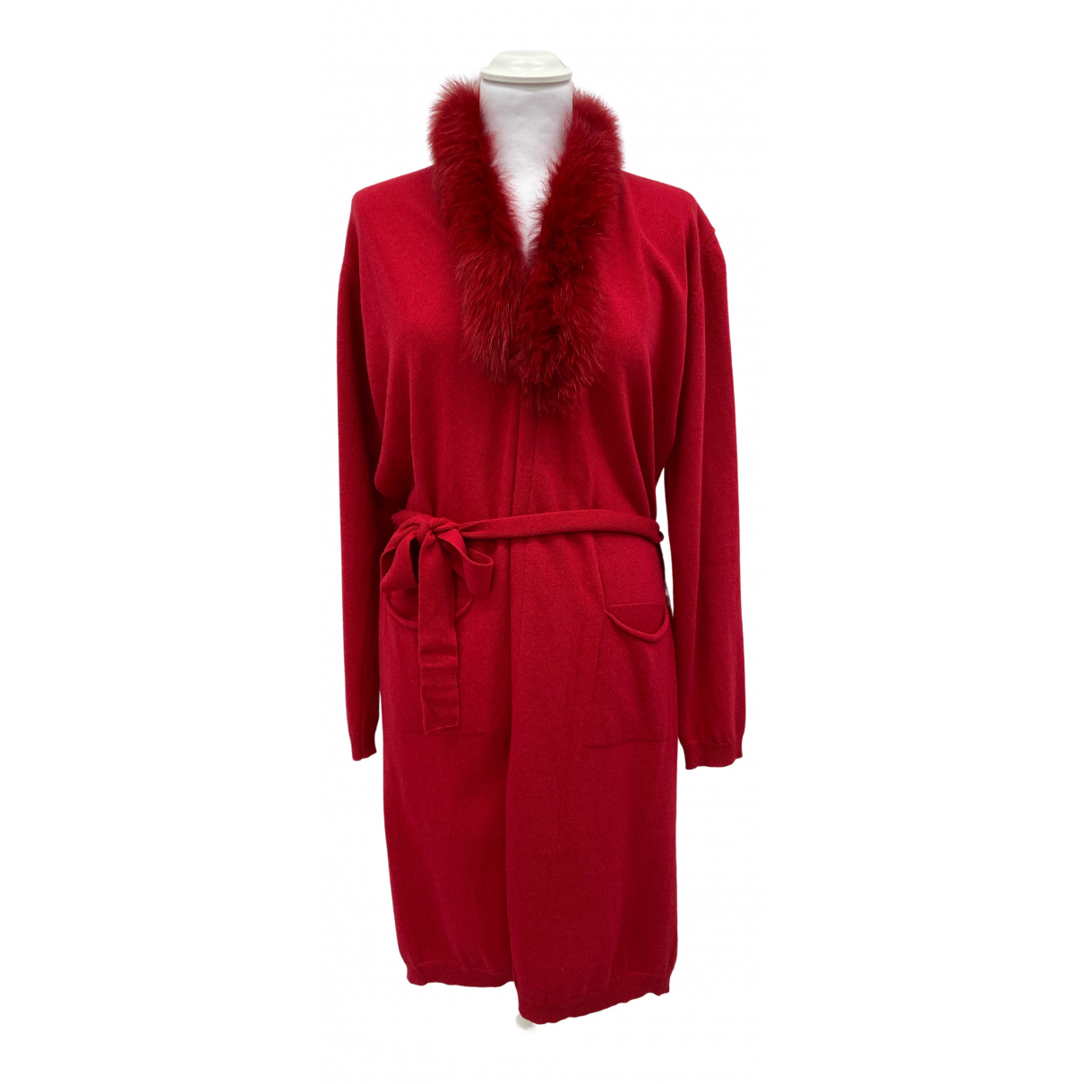 Mou - Pull   pour femme - rouge