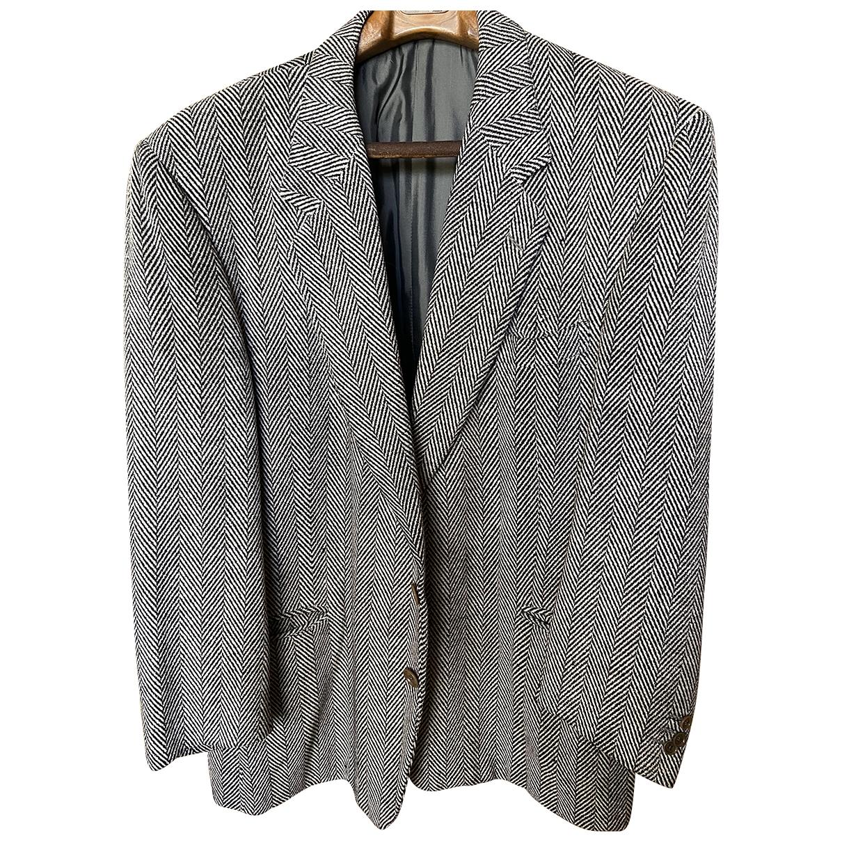 Gianfranco Ferre - Vestes.Blousons   pour homme en laine - gris