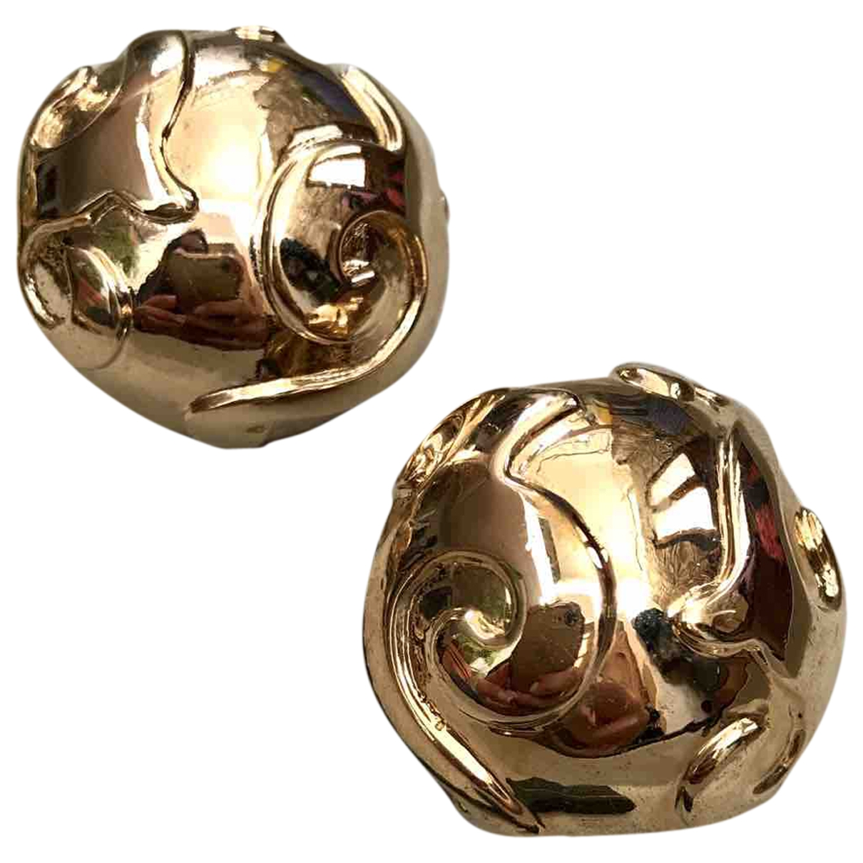 Yves Saint Laurent \N Gold Gold plated Earrings for Women \N