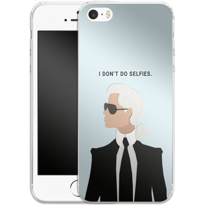 Apple iPhone 5s Silikon Handyhuelle - Lagerfeld von caseable Designs