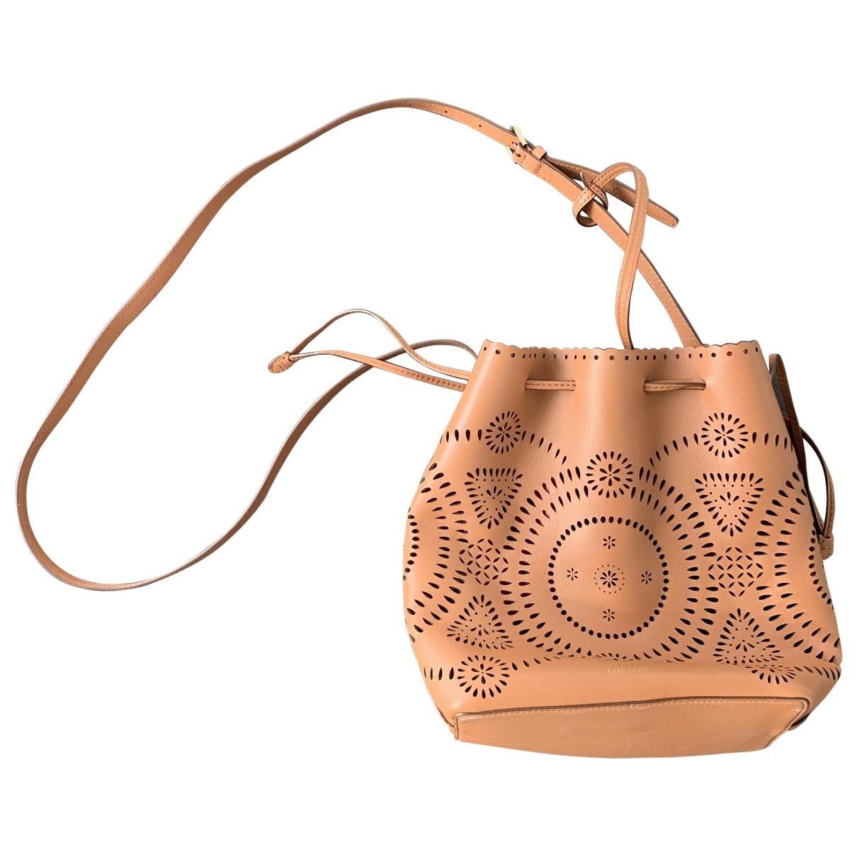 Polo Ralph Lauren \N Brown Leather handbag for Women \N
