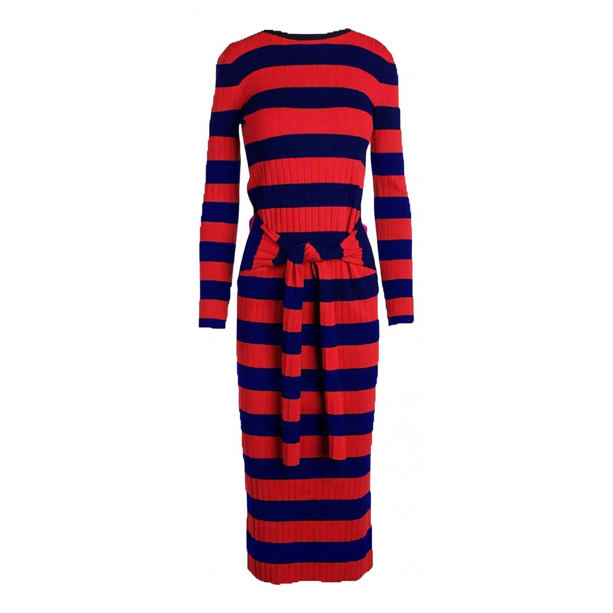 Lauren Ralph Lauren - Robe   pour femme en coton - rouge