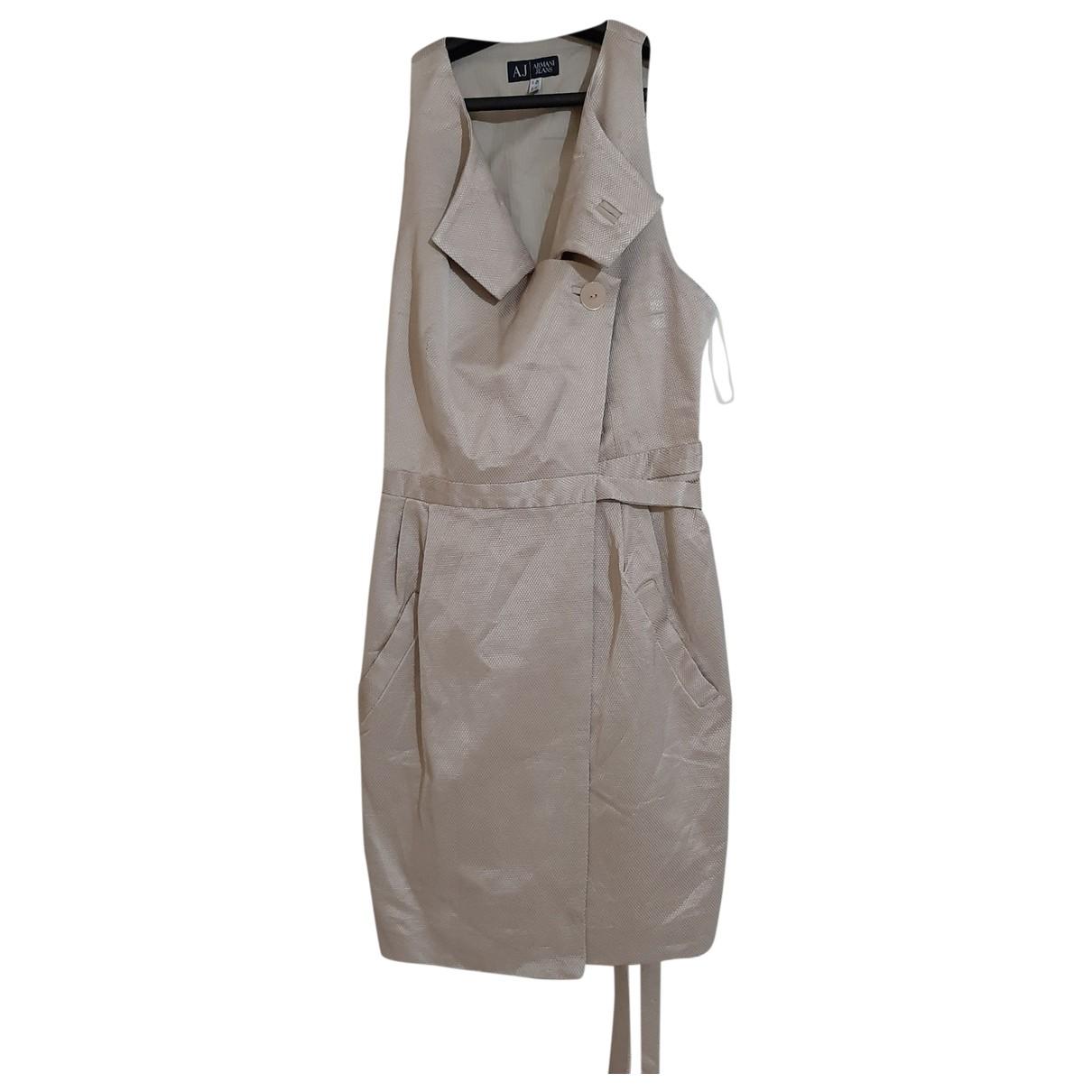 Armani Jeans \N Beige dress for Women 6 US