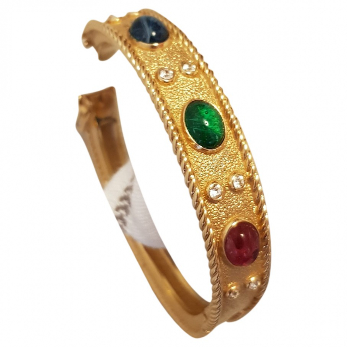 Non Signé / Unsigned \N Gold Metal bracelet for Women \N