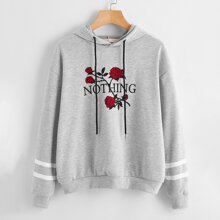 Rose Graphic Hoodie