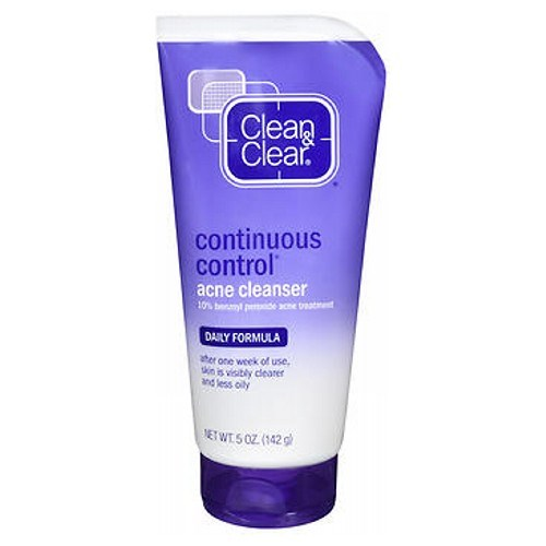 Clean & Clear Continuous Control Acne Cleanser Daily Formula 5 oz by Clean & Clear