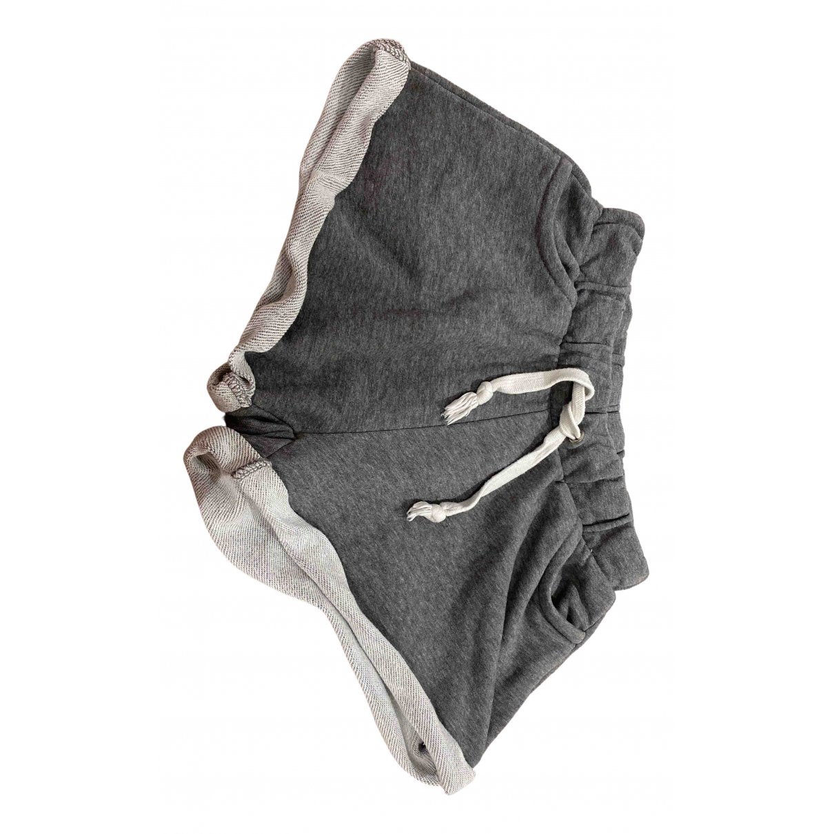 Zara \N Shorts in  Grau Baumwolle