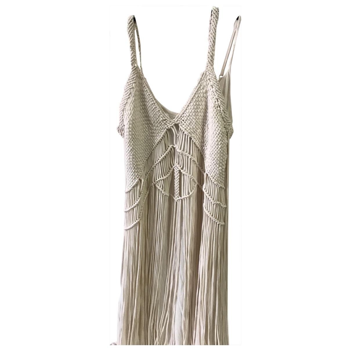 Ralph Lauren Denim & Supply \N Beige Cotton dress for Women XS International