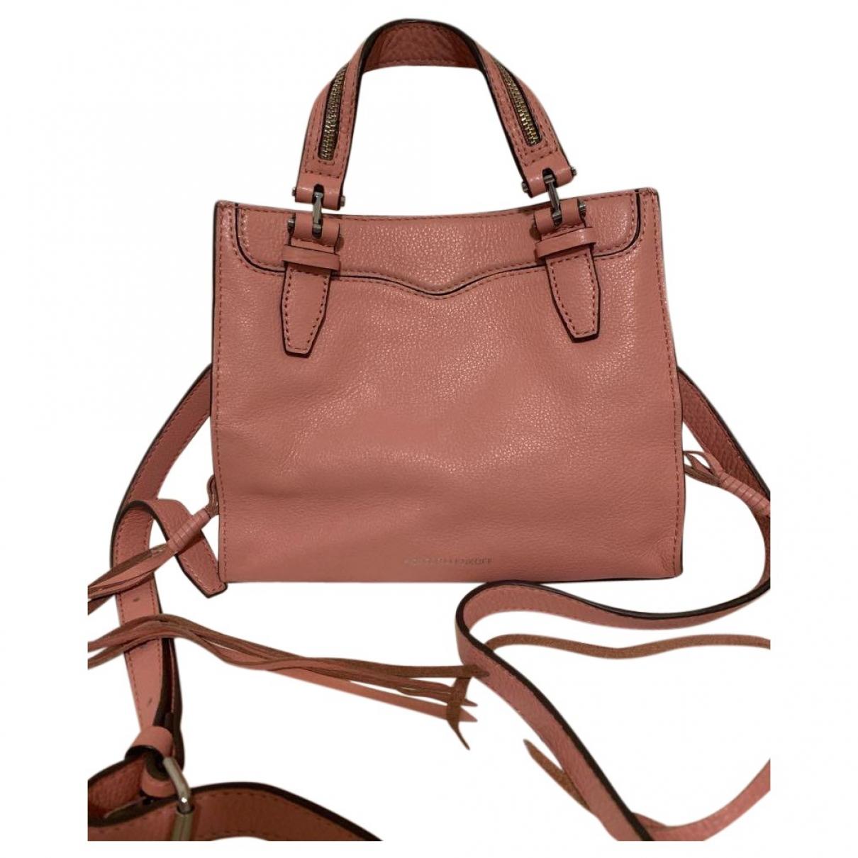 Rebecca Minkoff \N Pink Leather handbag for Women \N
