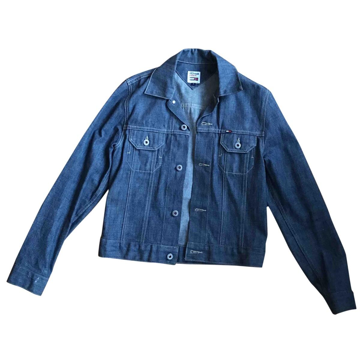 Tommy Hilfiger \N Blue Denim - Jeans jacket for Women 36 FR
