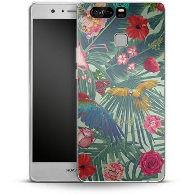 Huawei P9 Silikon Handyhuelle - Tropic Fun von Mark Ashkenazi